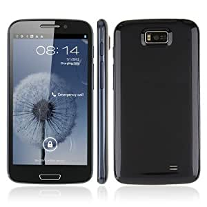 "Smartphone Hero 9300+ 5.3"" Dual Sim Android 4.1 MTK6577 3G GPS WiFi BT 8mpx colore Dark Blue"