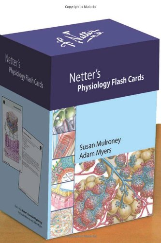 Netter'S Physiology Flash Cards, 1E (Netter Basic Science)