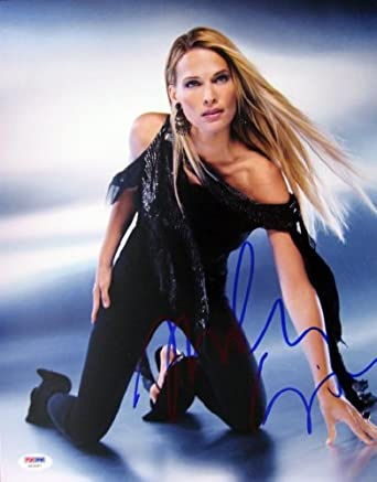 Molly sims signed sports illustrated swim suit model autographed 11x14