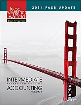2014 FASB Update Intermediate Accounting 15e Volume 2
