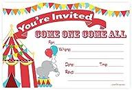 Carnival Circus Invitations – Birthda…
