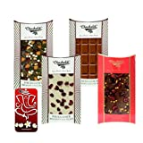 Chocholik Belgium Chocolate Gifts - Heavenly Combination Of Belgian Chocolate Bars With 3d Mobile Cover For IPhone...
