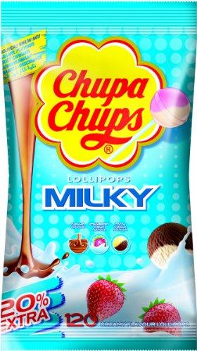Chupa Chups Lattea Lollies - 120 di
