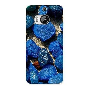 Premier Blue Rocks Multicolor Back Case Cover for HTC One M9 Plus