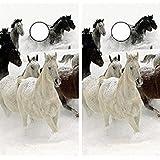 Avery Dennison C161 Horse Horses CORNHOLE LAMINATED DECAL WRAP SET Decals Board Boards Vinyl Sticker Stickers Bean Bag Game Wraps Vinyl Graphic Tint Image Corn Hole