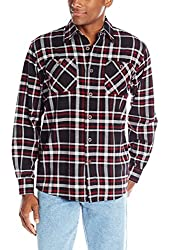 Wrangler Men's Authentics Long-Sleeve Flannel Shirt