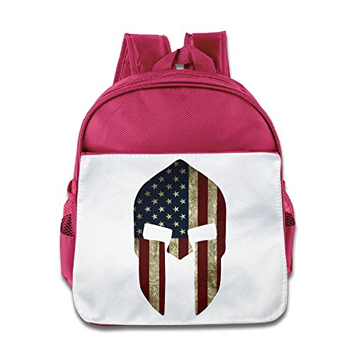 HAPYO American Flag Spartan Backpack / Kids' School Backpack Pink (Kenmore Pedal compare prices)
