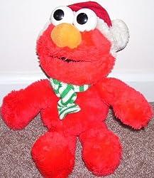 Sesame Street CHRISTMAS ELMO Plush 1997 14
