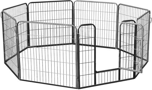 Octagon Dog Show Pet Exercise Playpen front-1023255
