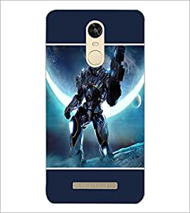 PrintDhaba Transformer D-1278 Back Case Cover for XIAOMI REDMI NOTE 3 PRO (Multi-Coloured)
