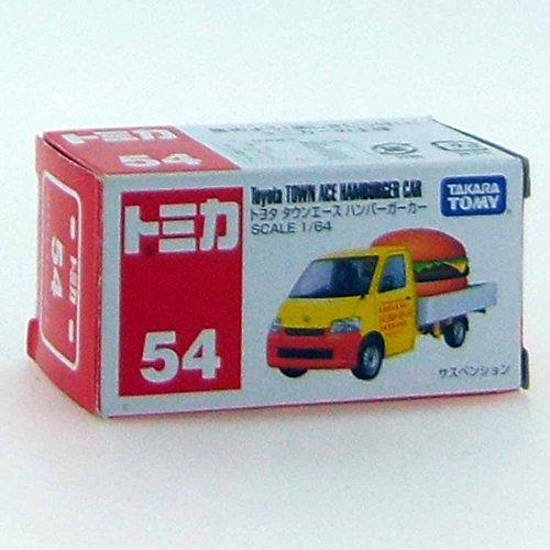 TAKARA TOMY Tomica Diecast BX054- Toyota Townance Hamburger Diecast Toy Car - 1