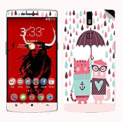 Theskinmantra Umbrella Cheers SKIN/STICKER for OnePlus One