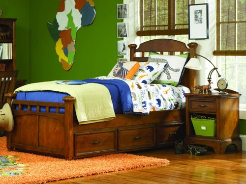 Opus Designs Tahoe Twin Bed with Trundle