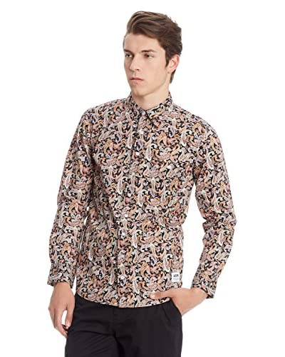 Wrung Camicia Uomo Instinct [Multicolore]