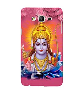 Lord Rama 3D Hard Polycarbonate Designer Back Case Cover for Samsung Galaxy On5 :: Samsung Galaxy On 5 G550FY