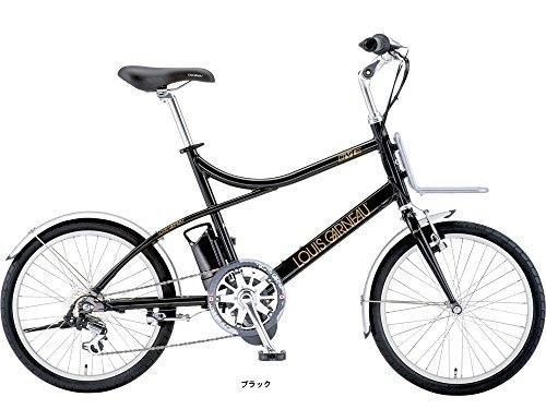 """ルイガノ(LOUIS GARNEAU) 電動アシスト自転車 GARNEAU) 16'LGS-MV E ミニベロ20""""電動アシスト ブラック 450mm 14L-FJE98"""