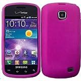 Silicone Jelly Skin Case for Straighttalk Samsung Galaxy Proclaim S720C - Hot Pink