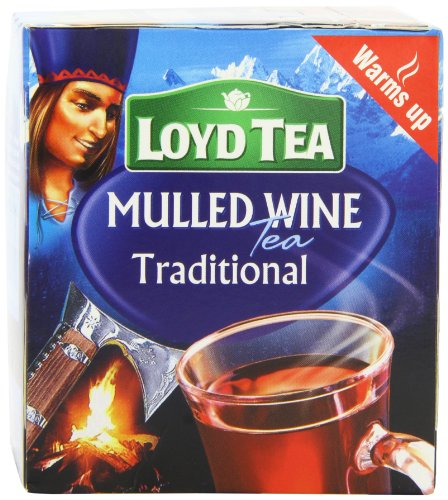 Mokate Loyd Traditional Mulled Wine 10 Teabags 30 g (Pack of 8)