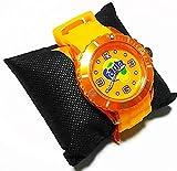 ファンタ シースルー シリコン ウォッチ 腕時計 オレンジ watch Fanta
