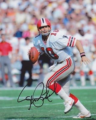 Steve Bartkowski Autographed / Hand Signed Atlanta Falcons 8x10 Photo