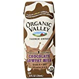 Organic Valley, Lowfat Chocolate Milk (1% Milkfat), 8-Ounce Aseptic Cartons (Pack of 12) ~ Organic Valley