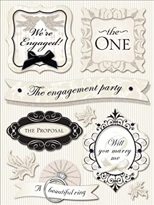 K&Company Engagement Grand Adhesions Stickers
