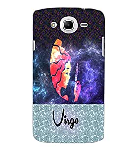 Printdhaba Zodiac Virgo D-4860 Back Case Cover For Samsung Galaxy Mega 5.8