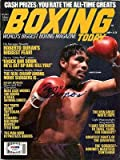 Roberto Duran Autographed Signed Magazine Cover #S48924 - PSA/DNA Certified - Autographed Boxing Magazines