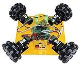 4WD100mmオムニホイールモバイルロボット (10008)