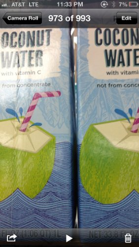 Trader Joe'S Coconut Water (Pack Of 2)