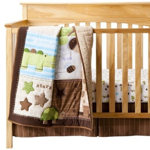Circo Neutral 3pc Chomps Crib Set