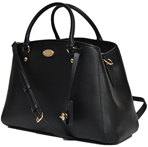 You Save Coach Leather Saddle Margot Carryall