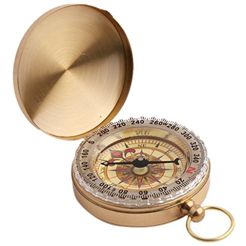 UNKE-Vintage-Retro-Outdoor-Camping-Hiking-Portable-Brass-Pocket-Watch-Camping-Compass-Navigation-Tool