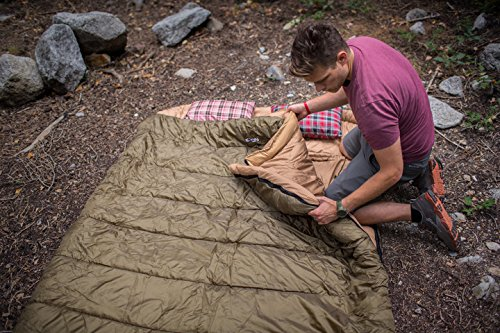 TETON Queen Size Sleeping Bag 4