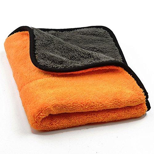 microfaser-trockentuch-auto-wasche-reinigung-politur-von-autoscar-45-x-38-cm-orange-mikrofaser-reini
