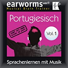 Portugiesisch (vol.1): Lernen mit Musik Audiobook by  earworms Learning Narrated by Uli Holler, Ana Valdez