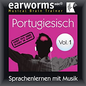 Portugiesisch (vol.1): Lernen mit Musik Audiobook