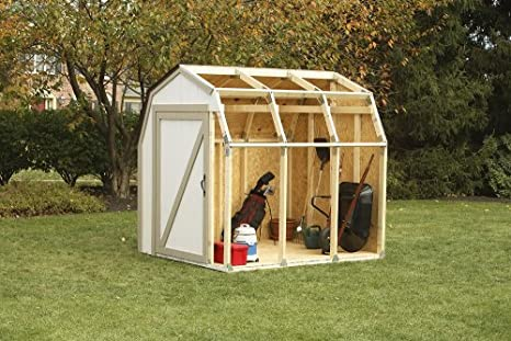 Easy to build a shed cheap shed kits wood shed for Cheap barn kits