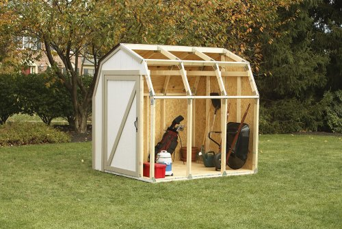 Hopkins 2x4basics 90190 Shed Kit, Barn Style Roof