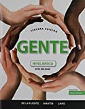 img - for Gente: nivel b sico, 2015 Release; MySpanishLab with Pearson eText -- Access Card -- for Gente: nivel b sico, 2015 Release (Multi Semester); Oxford New Spanish Dictionary (3rd Edition) book / textbook / text book