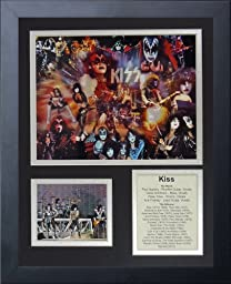 Legends Never Die KISS Framed Photo Collage, 11x14-Inch