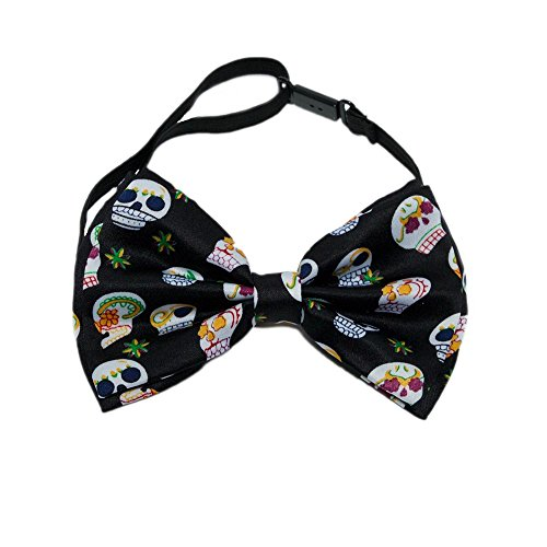 Day of the Dead Bow Tie