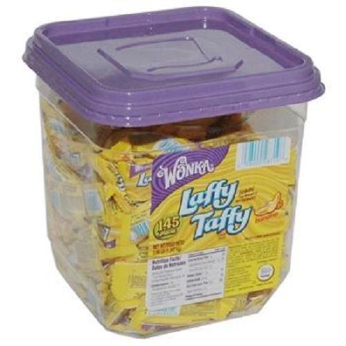 wonka-laffy-taffy-banana-tub-034-oz-each-145-in-a-pack-by-laffy-taffy