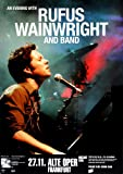 Rufus Wainwright Release The Stars 2007 - Concert Poster Concertposter