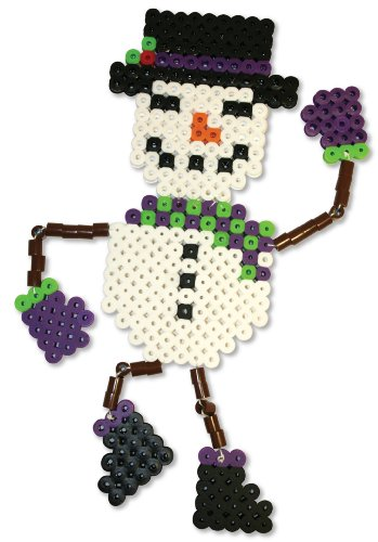 Perler Beads Biggie Fused Bead Kit - Snowman