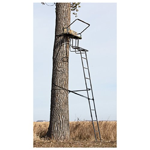 Review Sniper 15 foot Deluxe 2-man Ladder Stand