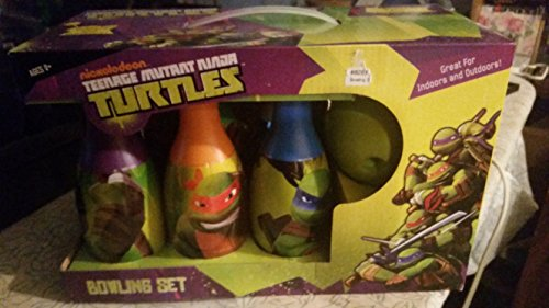 Nickelodeon Teenage Mutant Ninja Turtles Bowling Set (Ninja Bowling Ball compare prices)