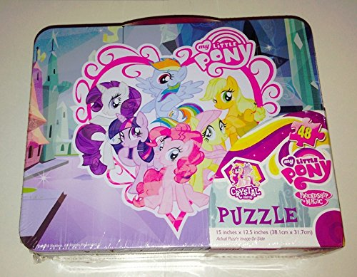 My Little Pony Tin Lunch Box with Puzzle