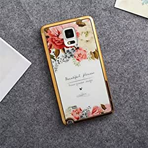 Phnom Penh Flowers Electroplating TPU Material Phone Case for Note 4 #04743968