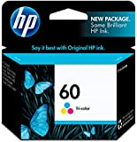 Hewlett Packard HP60 Tri-Color Ink Cartridge